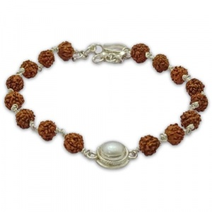 Rudraksha & Gem Bracelet for Cancer