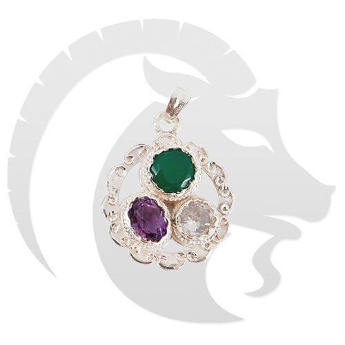 Gems Pendant for Capricorn