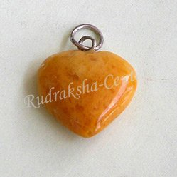 Jasper Heart Shaped Pendant
