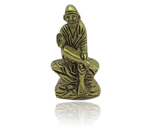 Sai Baba Idol in Brass