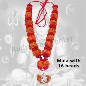 Shiva Shakti Mala in Thread - Nepalese