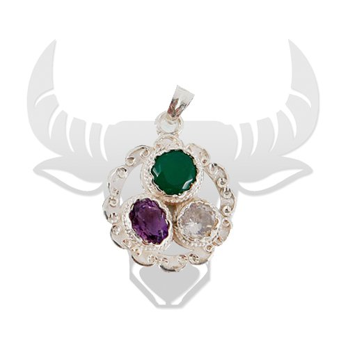 Gems Pendant for Taurus