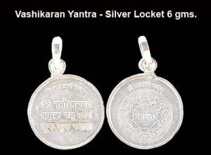 Vashikaran Yantra in 6 gms Silver Locket